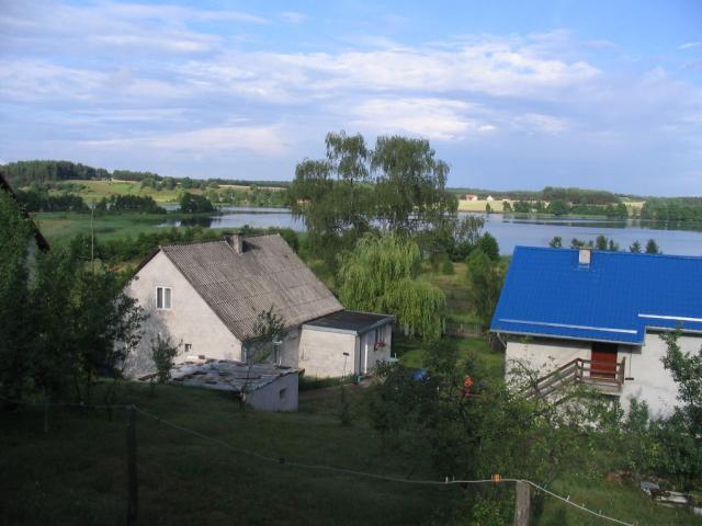 Podwórko - widok z góry